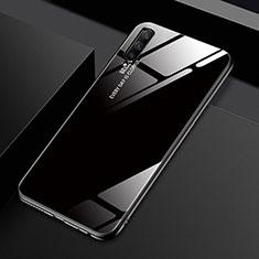 Silikon Schutzhülle Rahmen Tasche Hülle Spiegel Farbverlauf Regenbogen für Huawei Honor 9X Pro Schwarz
