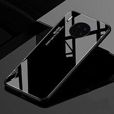 Silikon Schutzhülle Rahmen Tasche Hülle Spiegel Farbverlauf Regenbogen für Huawei Mate 30 5G Schwarz