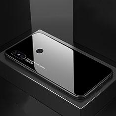 Silikon Schutzhülle Rahmen Tasche Hülle Spiegel Farbverlauf Regenbogen M01 für Xiaomi Mi A2 Schwarz