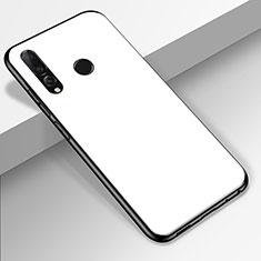 Silikon Schutzhülle Rahmen Tasche Hülle Spiegel für Huawei Honor 20 Lite Weiß