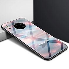 Silikon Schutzhülle Rahmen Tasche Hülle Spiegel für Huawei Mate 30 5G Plusfarbig