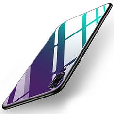 Silikon Schutzhülle Rahmen Tasche Hülle Spiegel für Huawei P20 Bunt