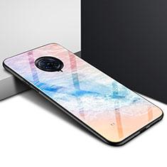 Silikon Schutzhülle Rahmen Tasche Hülle Spiegel für Vivo Nex 3 Orange