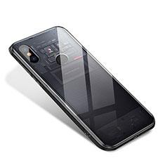 Silikon Schutzhülle Rahmen Tasche Hülle Spiegel für Xiaomi Mi 8 SE Klar