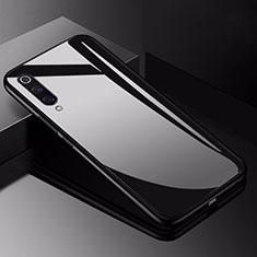 Silikon Schutzhülle Rahmen Tasche Hülle Spiegel für Xiaomi Mi 9 Pro 5G Schwarz