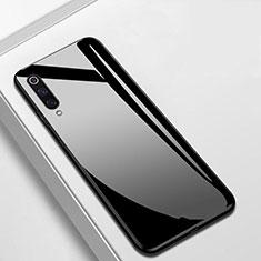 Silikon Schutzhülle Rahmen Tasche Hülle Spiegel für Xiaomi Mi A3 Schwarz