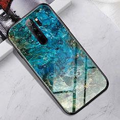Silikon Schutzhülle Rahmen Tasche Hülle Spiegel für Xiaomi Redmi Note 8 Pro Plusfarbig