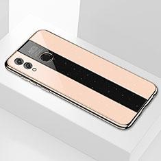 Silikon Schutzhülle Rahmen Tasche Hülle Spiegel M01 für Huawei Honor 8X Max Gold