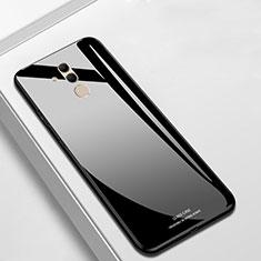 Silikon Schutzhülle Rahmen Tasche Hülle Spiegel M01 für Huawei Mate 20 Lite Schwarz