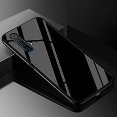 Silikon Schutzhülle Rahmen Tasche Hülle Spiegel M01 für Realme X3 SuperZoom Schwarz