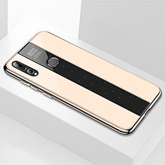Silikon Schutzhülle Rahmen Tasche Hülle Spiegel M02 für Huawei Honor 20i Gold