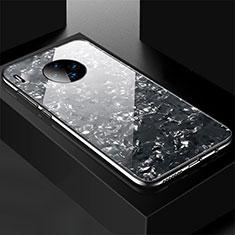 Silikon Schutzhülle Rahmen Tasche Hülle Spiegel M02 für Huawei Mate 30 5G Schwarz