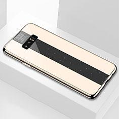 Silikon Schutzhülle Rahmen Tasche Hülle Spiegel M03 für Samsung Galaxy Note 8 Duos N950F Gold
