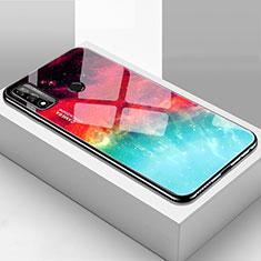 Silikon Schutzhülle Rahmen Tasche Hülle Spiegel T01 für Huawei P Smart (2020) Plusfarbig