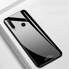 Silikon Schutzhülle Rahmen Tasche Hülle Spiegel T03 für Huawei Honor 20 Lite Schwarz