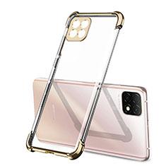 Silikon Schutzhülle Ultra Dünn Flexible Tasche Durchsichtig Transparent H01 für Huawei Enjoy 20 5G Gold