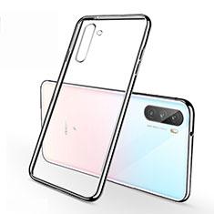Silikon Schutzhülle Ultra Dünn Flexible Tasche Durchsichtig Transparent H01 für Huawei Mate 40 Lite 5G Silber