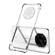 Silikon Schutzhülle Ultra Dünn Flexible Tasche Durchsichtig Transparent H01 für Huawei Mate 40 RS Klar