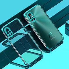 Silikon Schutzhülle Ultra Dünn Flexible Tasche Durchsichtig Transparent H01 für Huawei Nova 8 Pro 5G Grün