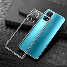 Silikon Schutzhülle Ultra Dünn Flexible Tasche Durchsichtig Transparent H01 für Oppo K7x 5G Klar