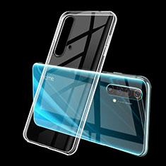Silikon Schutzhülle Ultra Dünn Flexible Tasche Durchsichtig Transparent H01 für Realme X50m 5G Klar