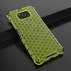 Silikon Schutzhülle Ultra Dünn Flexible Tasche Durchsichtig Transparent H01 für Xiaomi Poco X3 NFC Grün