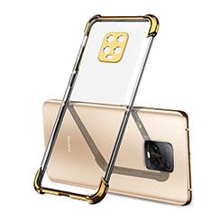 Silikon Schutzhülle Ultra Dünn Flexible Tasche Durchsichtig Transparent H01 für Xiaomi Redmi 10X Pro 5G Gold