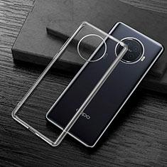 Silikon Schutzhülle Ultra Dünn Flexible Tasche Durchsichtig Transparent H02 für Oppo Ace2 Klar