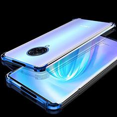 Silikon Schutzhülle Ultra Dünn Flexible Tasche Durchsichtig Transparent H02 für Vivo Nex 3 Blau