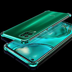 Silikon Schutzhülle Ultra Dünn Flexible Tasche Durchsichtig Transparent S04 für Huawei P40 Lite Grün