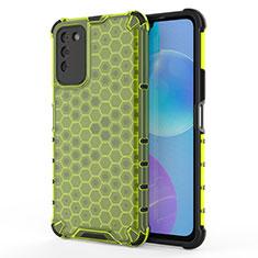 Silikon Schutzhülle Ultra Dünn Flexible Tasche Durchsichtig Transparent U01 für Huawei Honor 30 Lite 5G Grün