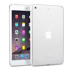 Silikon Schutzhülle Ultra Dünn Handyhülle Hülle Durchsichtig Transparent für Apple iPad Mini 3 Weiß