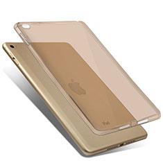 Silikon Schutzhülle Ultra Dünn Handyhülle Hülle Durchsichtig Transparent für Apple iPad Mini 4 Gold