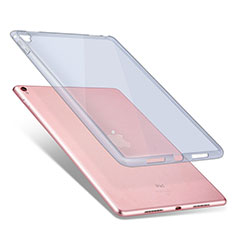 Silikon Schutzhülle Ultra Dünn Handyhülle Hülle Durchsichtig Transparent für Apple iPad Pro 9.7 Blau