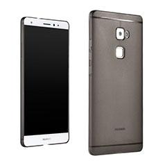 Silikon Schutzhülle Ultra Dünn Handyhülle Hülle Durchsichtig Transparent für Huawei Mate S Grau