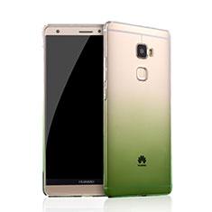Silikon Schutzhülle Ultra Dünn Hülle Durchsichtig Farbverlauf für Huawei Mate S Grün