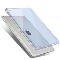 Silikon Schutzhülle Ultra Dünn Hülle Durchsichtig Transparent für Apple iPad Air 2 Hellblau