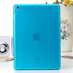 Silikon Schutzhülle Ultra Dünn Hülle Durchsichtig Transparent für Apple iPad Air Blau