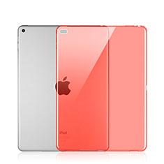 Silikon Schutzhülle Ultra Dünn Hülle Durchsichtig Transparent für Apple iPad Pro 12.9 Rot
