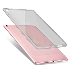 Silikon Schutzhülle Ultra Dünn Hülle Durchsichtig Transparent für Apple iPad Pro 9.7 Grau