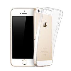 Silikon Schutzhülle Ultra Dünn Hülle Durchsichtig Transparent für Apple iPhone 5S Klar
