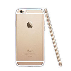 Silikon Schutzhülle Ultra Dünn Hülle Durchsichtig Transparent für Apple iPhone 6 Plus Klar