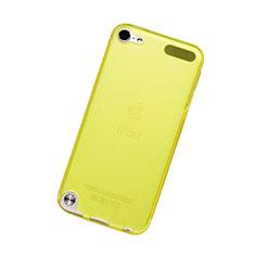 Silikon Schutzhülle Ultra Dünn Hülle Durchsichtig Transparent für Apple iPod Touch 5 Gelb