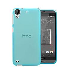 Silikon Schutzhülle Ultra Dünn Hülle Durchsichtig Transparent für HTC Desire 630 Blau