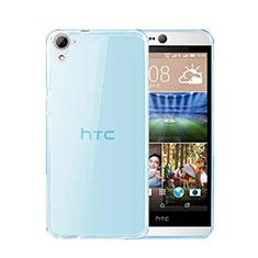 Silikon Schutzhülle Ultra Dünn Hülle Durchsichtig Transparent für HTC Desire 826 826T 826W Blau