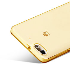 Silikon Schutzhülle Ultra Dünn Hülle Durchsichtig Transparent für Huawei Honor 4C Gold