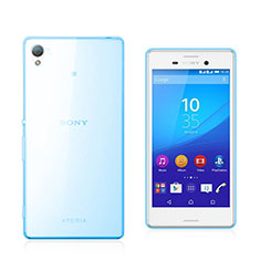 Silikon Schutzhülle Ultra Dünn Hülle Durchsichtig Transparent für Sony Xperia M4 Aqua Blau