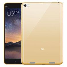 Silikon Schutzhülle Ultra Dünn Hülle Durchsichtig Transparent für Xiaomi Mi Pad 3 Gold