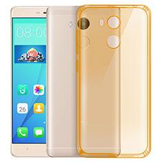 Silikon Schutzhülle Ultra Dünn Hülle Durchsichtig Transparent für Xiaomi Redmi 4 Prime High Edition Gold