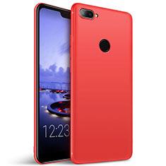 Silikon Schutzhülle Ultra Dünn Hülle für Huawei Honor 9i Rot